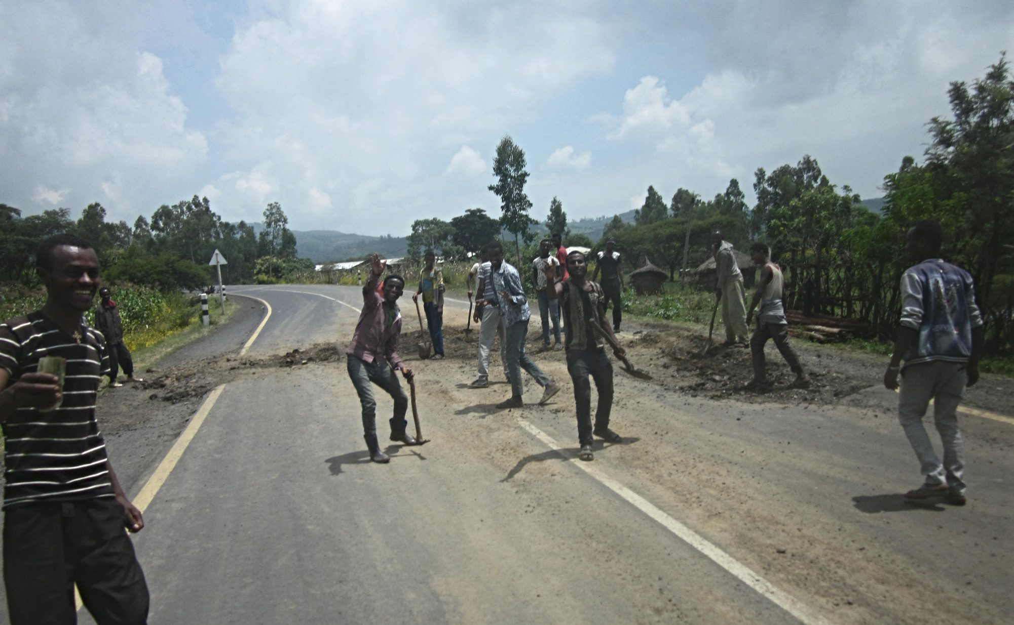 Las carreteras de Etiopía