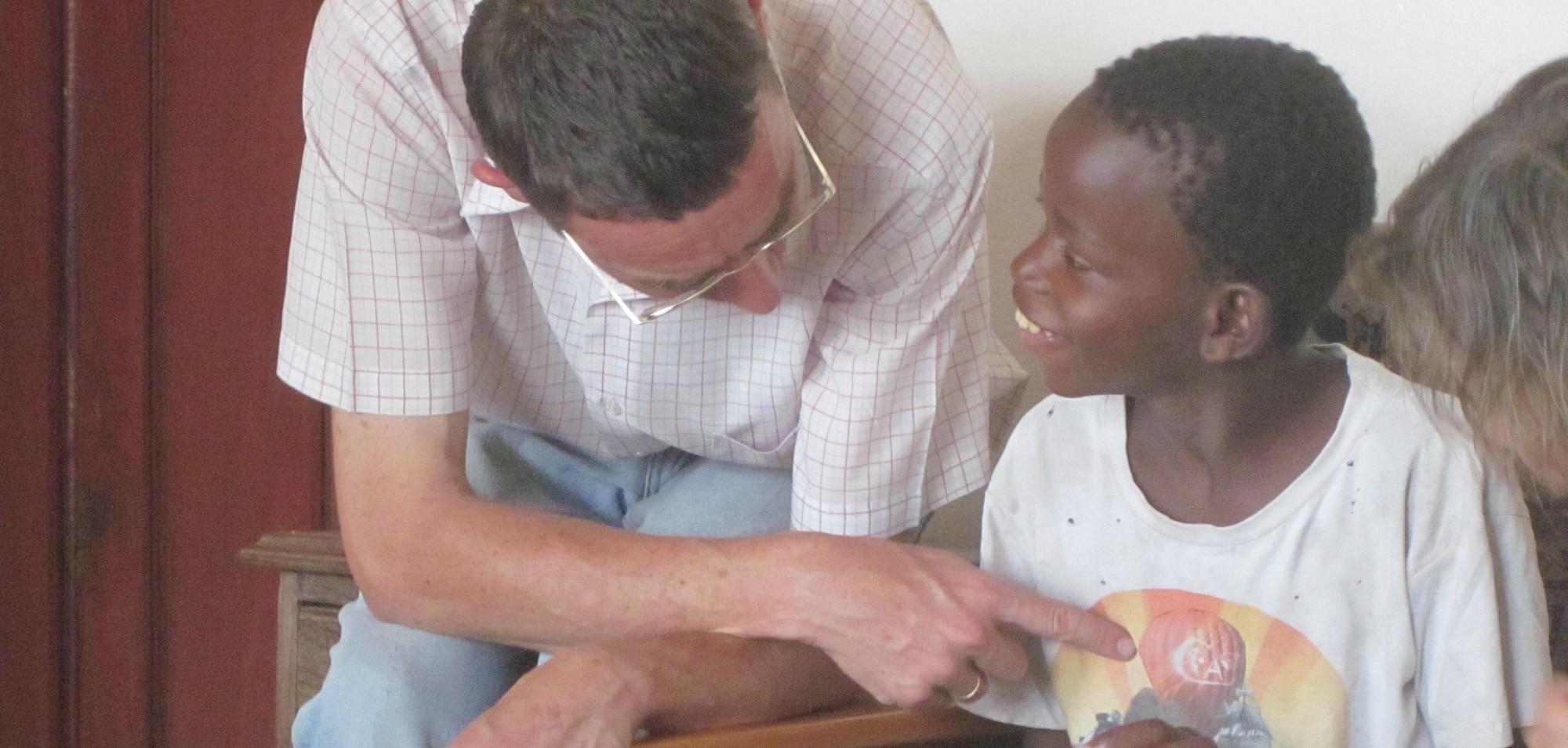 La grandísima labor de Carlos y Pedro en San Jerónimo (Mozambique)