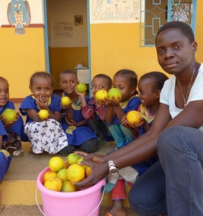 """Proyecto de Guarderías en el Valle de """"Angar Guten"""" (Etiopía)"""