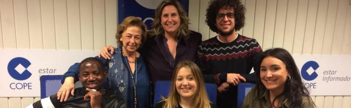 Asistimos a la entrevista con Cristina Lz. Schlichting de La COPE en nuestro 140 aniversario