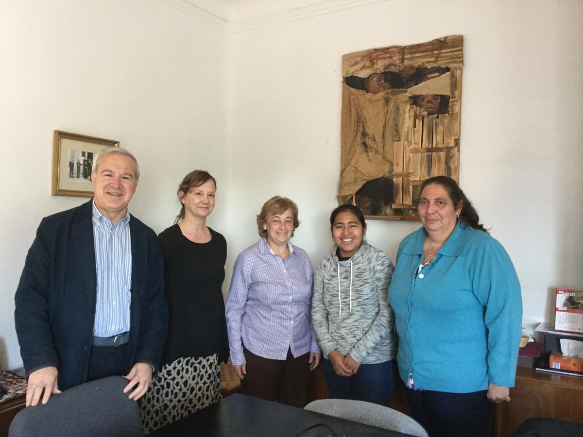 La FSPN firma el Convenio para 2017 con la Comunidad Misionera de San Pablo Apóstol (MCSPA)