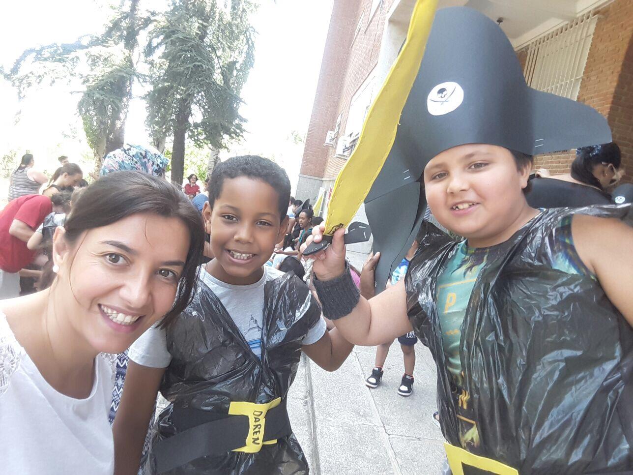Fiesta de fin de curso en Santa María del Parral