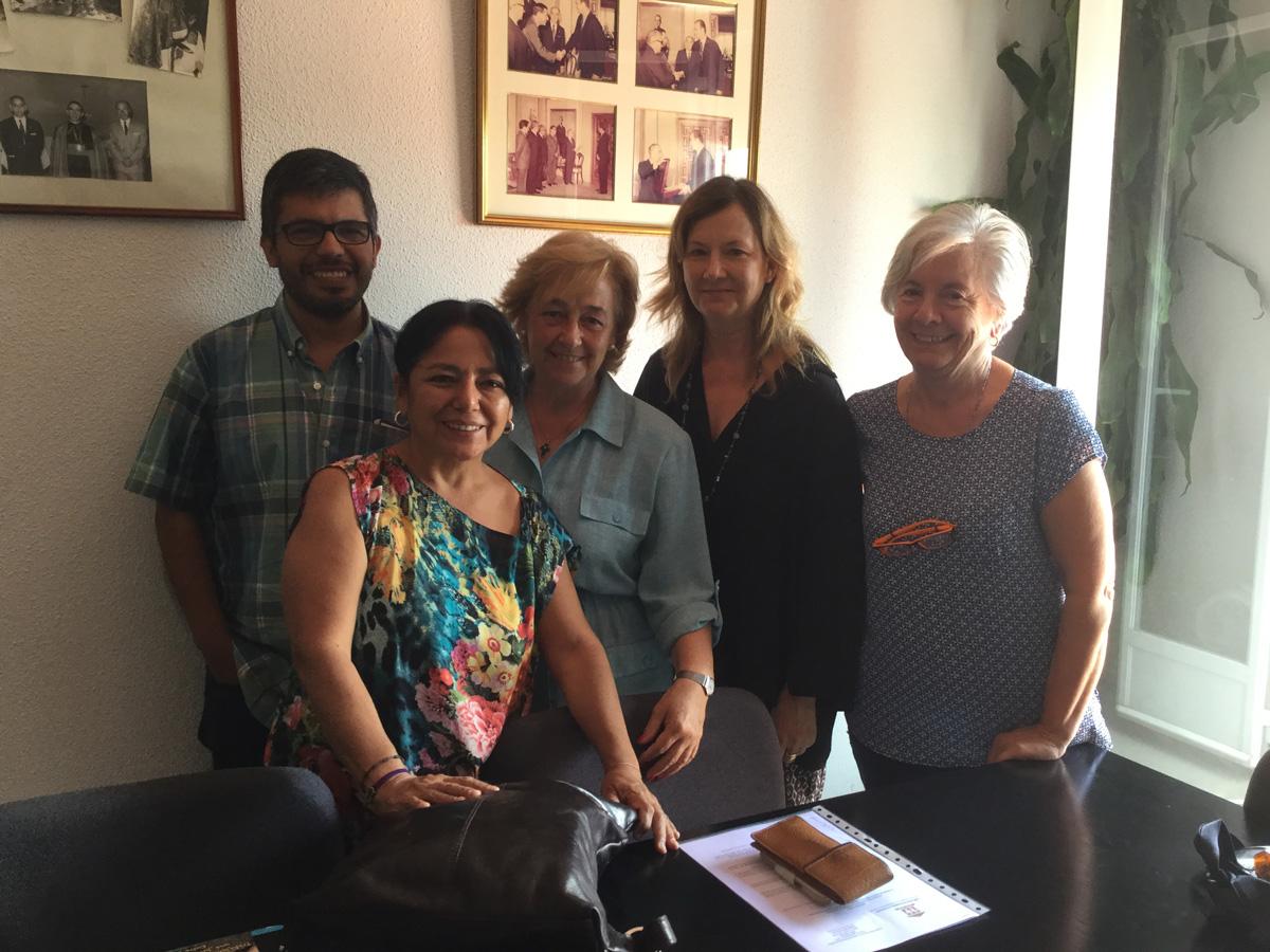 La FSPN firma el convenio 2017-2018 con Canat (Piura, Perú)