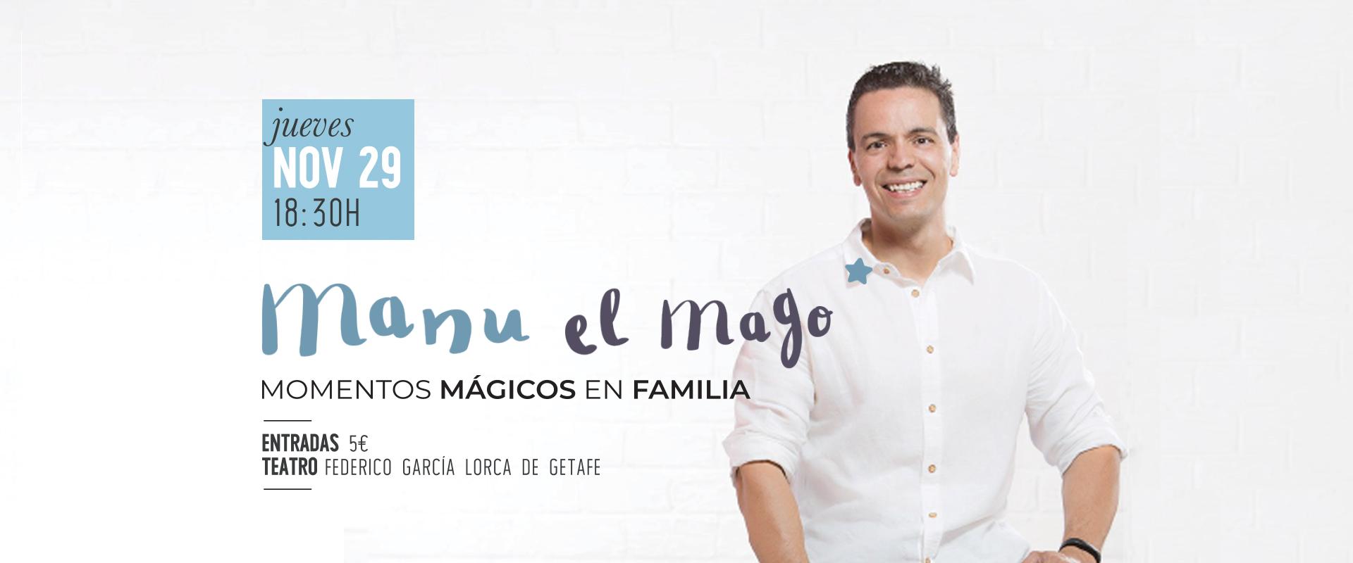 El espectáculo de magia de Manu, el Mago
