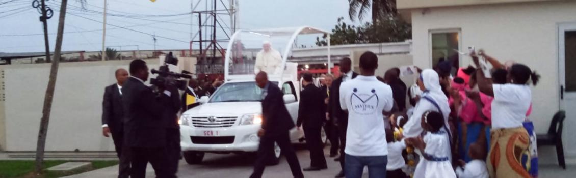 La visita privada del Papa