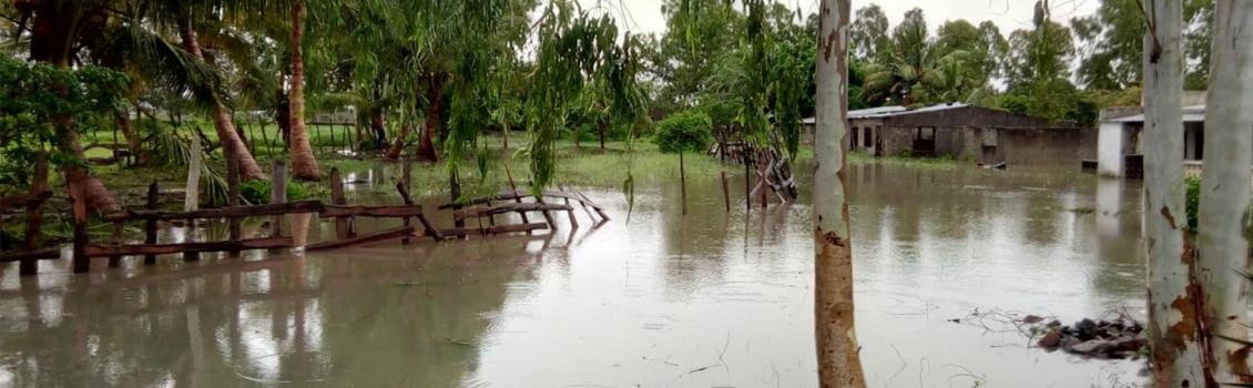 Una tormenta tropical inunda la ciudad de Beira